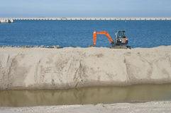 Small excavator Stock Images