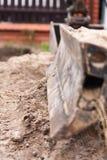 Small excavator Stock Photos