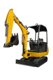 Small excavator Royalty Free Stock Photos