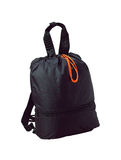 Small fabric backpack Stock Photo