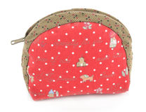 Small fabric purse Stock Images