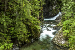 Free Small Falls In Snoqualmie Area. Royalty Free Stock Photography - 73662177
