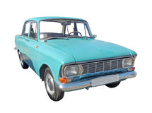 Small family car of 1970s Royalty Free Stock Image