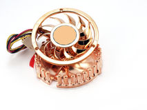 Small fan for microprocessor Royalty Free Stock Photography