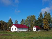 Small farm 2 Stock Photography