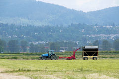 Small Farm Equipment for Haying Royalty Free Stock Image