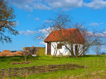 Small farm house Royalty Free Stock Photo
