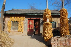 Small farm house. A small farm house China North Royalty Free Stock Images