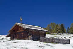 Small farm in South tyrol Stock Photography