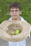 A small farmer Stock Photos
