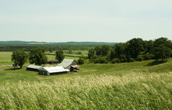 Small farmstead Royalty Free Stock Images