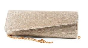 Small fashion female bag on the white Stock Photo
