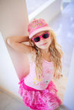Small fashion girl Royalty Free Stock Photo