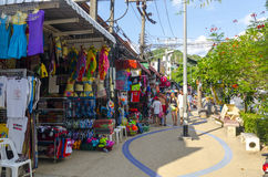 Small fashion shops on the Thai Royalty Free Stock Images