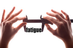 Small fatigue Royalty Free Stock Photos