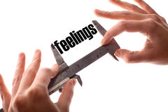 Small feelings Stock Images
