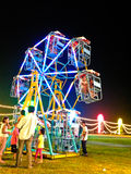 Small Ferris wheel Royalty Free Stock Photos