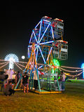 Small Ferris wheel Stock Images