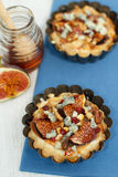 Small fig tart Stock Photography