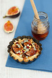 Small fig tart Stock Images