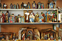Free Small Figures Of Belen, Christmas Market Stock Photography - 65832842