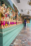 Small figurines in a Hinduism temple. Royalty Free Stock Photo