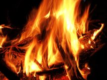 Small fire Stock Photo