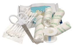 Small first aid kit Stock Image