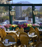 Small fish restourant in Eilat, Israel Royalty Free Stock Photo