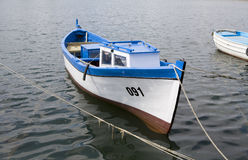 Small fisher boat Stock Photo