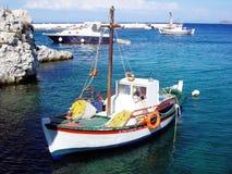 Greek boat Stock Photo