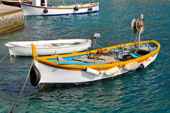 Small fishing boat Royalty Free Stock Images