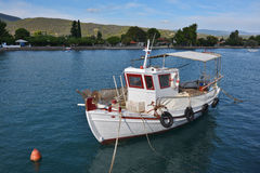 Small fishing boat, Greece Royalty Free Stock Images
