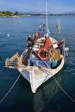 Small fishing boat, Greece Stock Photo