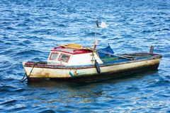 Small fishing boat in Havana Stock Image