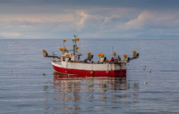 Small fishing boat Stock Images