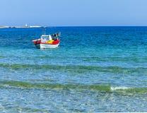 Small Fishing Boat. Isolated Image royalty free stock photos