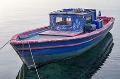 Small fishing boat in Meganisi island, Greece Royalty Free Stock Photography