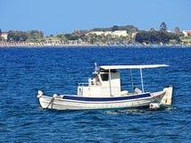 Small fishing boat near the island Kos (Greece) Stock Image
