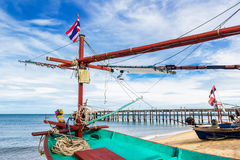Small fishing boat in Thailand Stock Photography