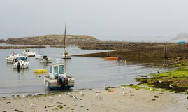 Small fishing boats Stock Photography