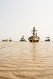 Small fishing boats Royalty Free Stock Image