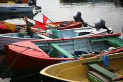 Small fishing boats Royalty Free Stock Photos