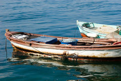 Small fishing boats Royalty Free Stock Photo