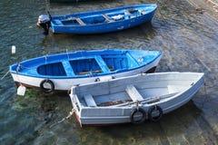 Small fishing boats - Italy. Small fishing boats in Italy Stock Photos