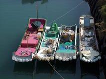 Small Fishing Boats Stock Image