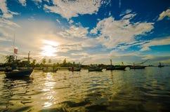Small fishing boats Royalty Free Stock Image