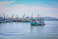 Small fishing boats Royalty Free Stock Photography