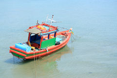 Small fishing boats near Royalty Free Stock Images
