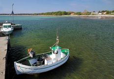 Small fishing boats Stock Photo